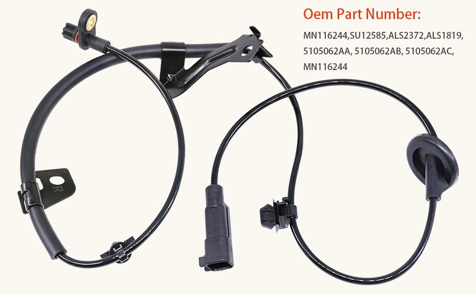Standard Motor Products ALS1819 Rr Wheel ABS Brake Sensor