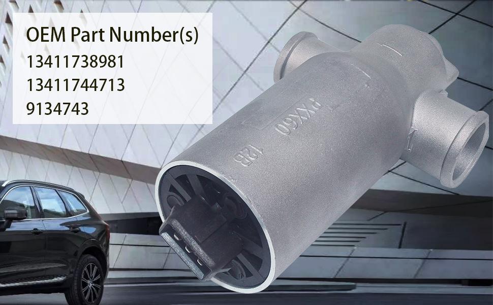 Amazon.com: 13411744713 válvula de control de aire inactivo ...