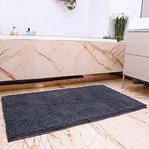 Amazon Com Kmat Bath Mat Rug Nonslip Plush Chenille