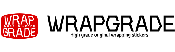 Whapgrade wrapping stickers