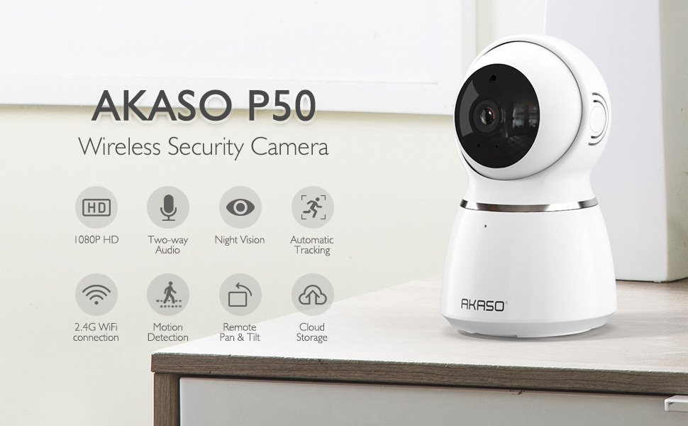 AKASO SECURITY CAMERA