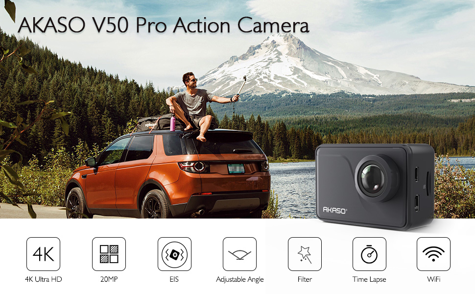 akaso v50 pro action camera