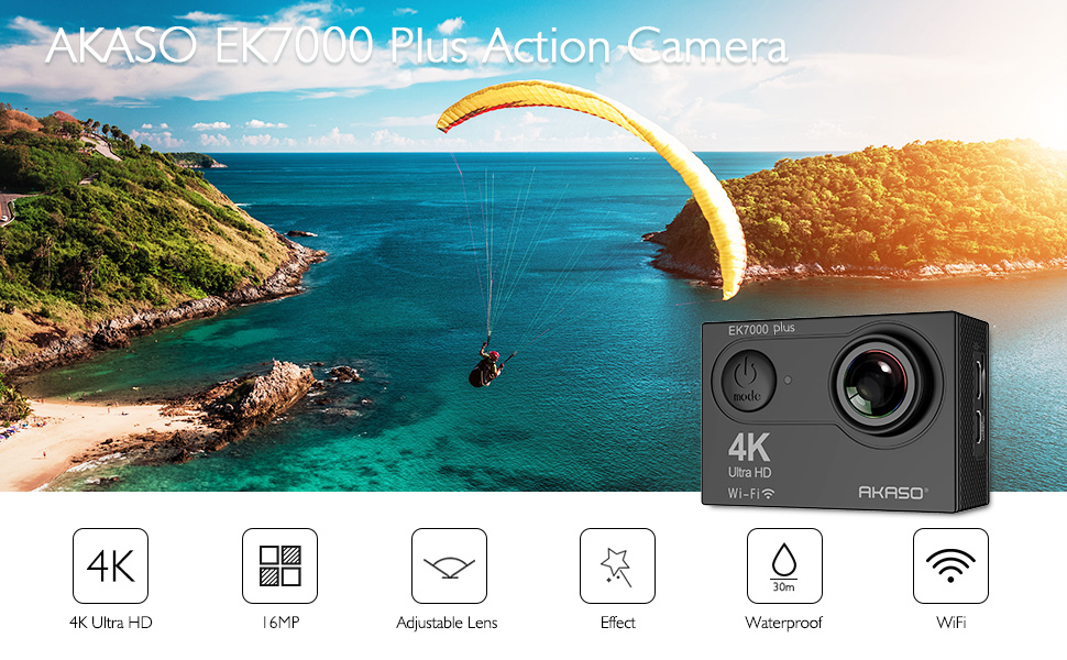 akaso ek7000 plus action camera