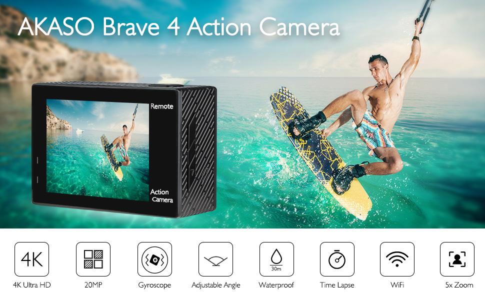 akaso brave 4 action camera