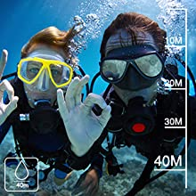40m underwater camera