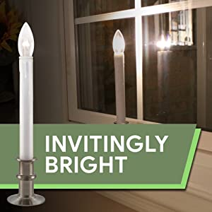 612 Vermont Ultra Bright Window Candles