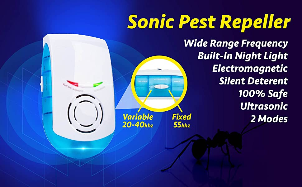 rodent repeller ultrasonic pest reject mice repellent rat mouse plug in electronic control best