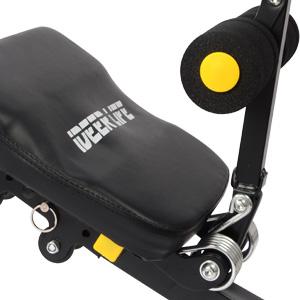 Amazon.com: IDEER LIFE Máquina de entrenamiento abdominal ...