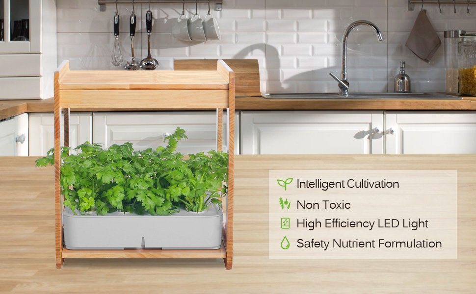 Indoor Gardening Kit Hydroponics Growing System