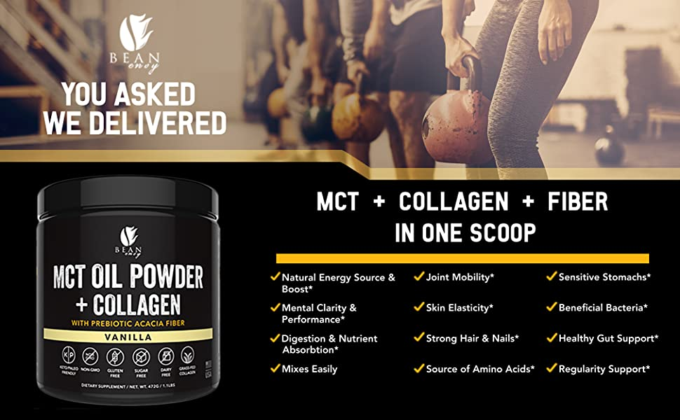 MCT oil powder Vanilla
