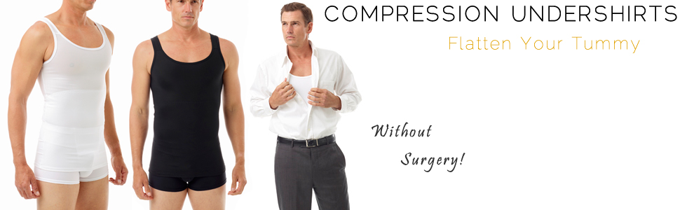 Underworks Classic Body Shirt, undershirt, compression shirt, compression tank, chest binder, ftm
