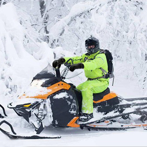 snowmobile mitten