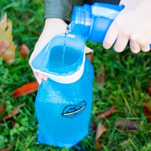 Hydration bladder, water bladder, water reservoir, hydration pack for hiking