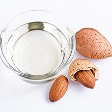 almond oil natural organic hydrate moisturize skincare women men wrinkles fine lines sensitive soft
