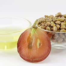 Organic Natural Grape Seed Oil Skin Skincare Normal Gentle Oily Dry Acne Sensitive Eczema Wrinkles