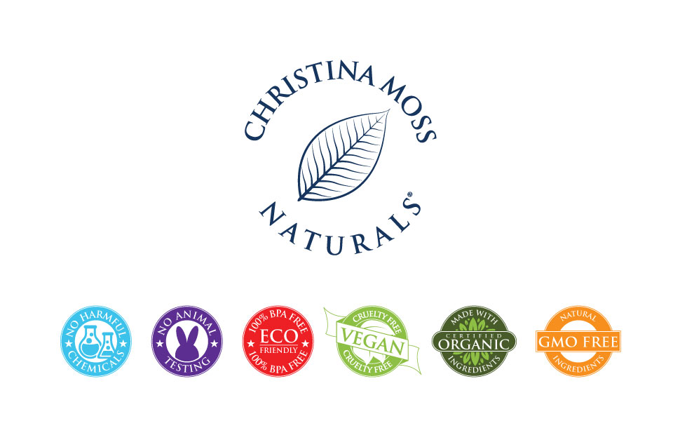 Christina Moss Naturals face skin skincare moisture moisturizer young youthful younger oily dry neck
