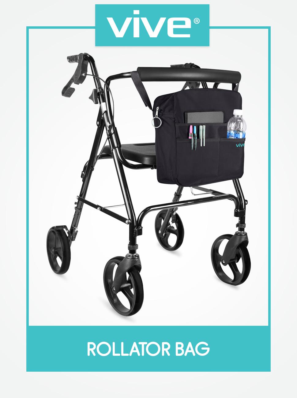 Amazon.com: Bolsa de transporte Vive para andador, universal ...