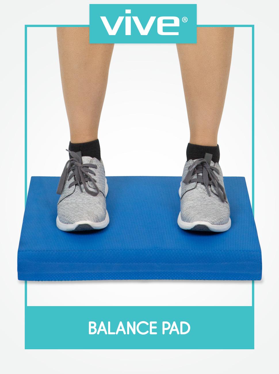 Amazon.com: Vive Balance Pad - Esterilla de yoga de espuma ...
