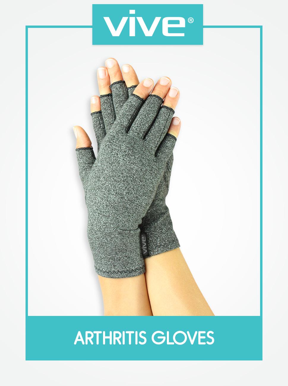 775B Arthritis Gloves Gray 3 Size Riding Glove Glove Health Care Effective