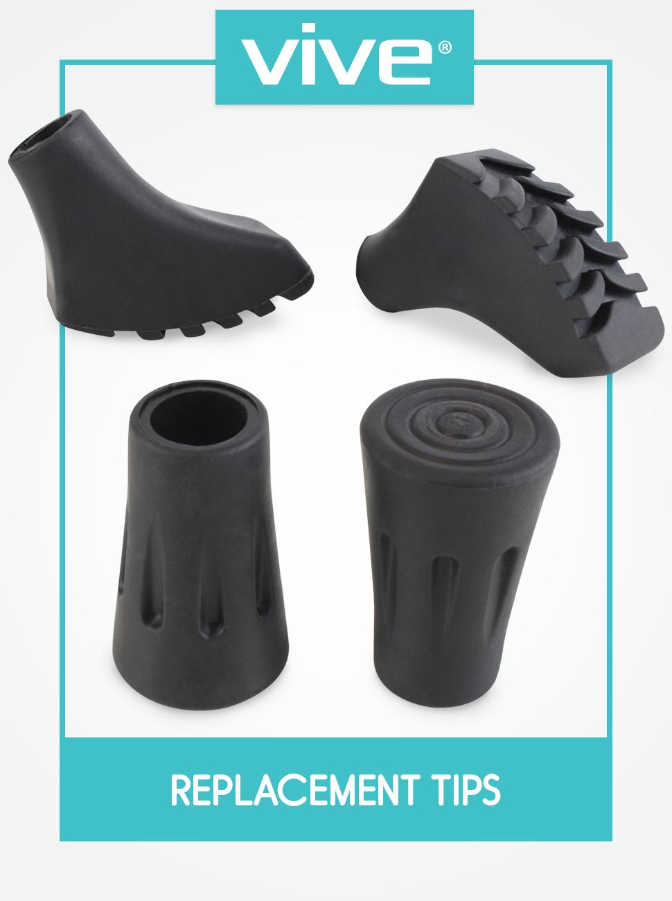 1pcs Trekking Pole Tips Rubber Feet For Outdoor Poles Walking Stick Protectors L