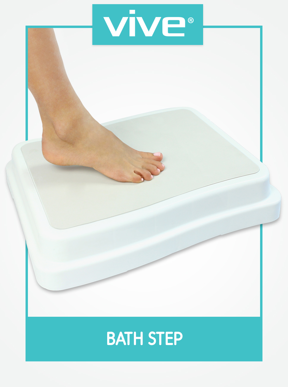 Amazon.com: Bath Step by Vive - Safe Step Bathroom Aid for Entering ...