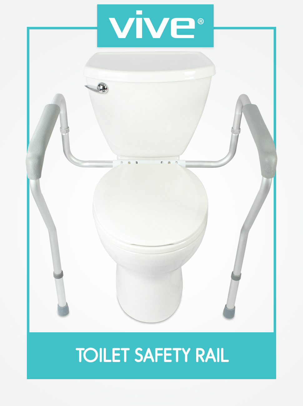 Amazon.com: Toilet Rail by Vive - Bathroom Safety Frame for ...