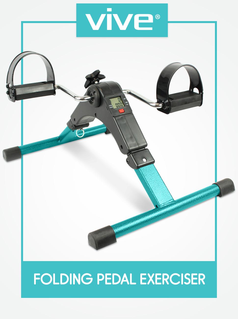 Amazon Com Portable Pedal Exerciser By Vive Arm Amp Leg
