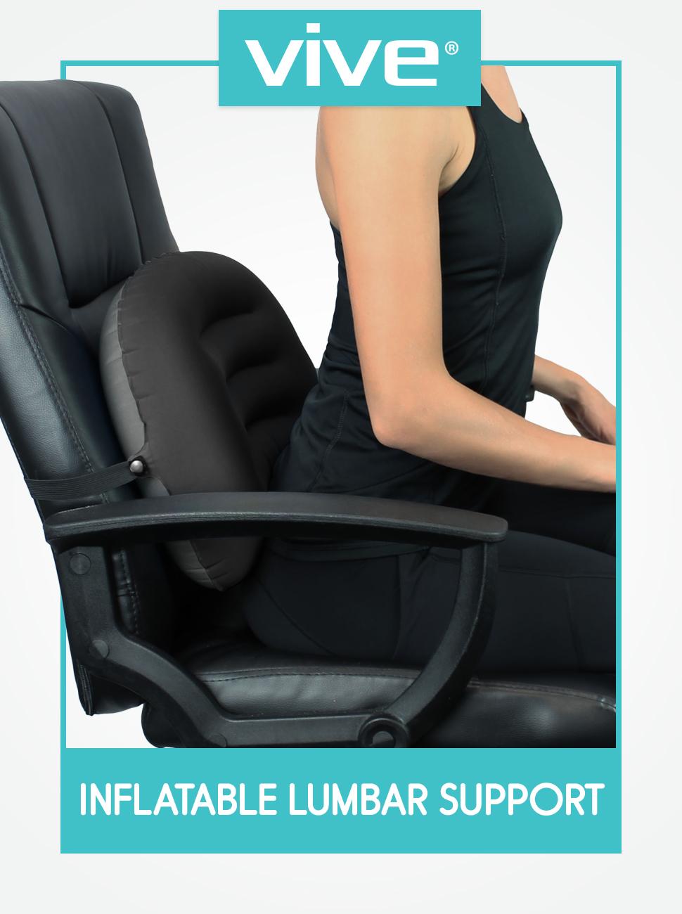 Amazon.com: Soporte lumbar inflable., ., 1: Health ...