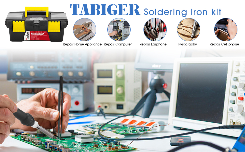 tabiger soldering iron kit