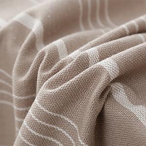 stripe tablecloth