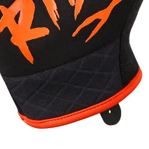 ROCRIDE ANIMALZ ORANGE TIGER FULL FINGER CYCLING GLOVES