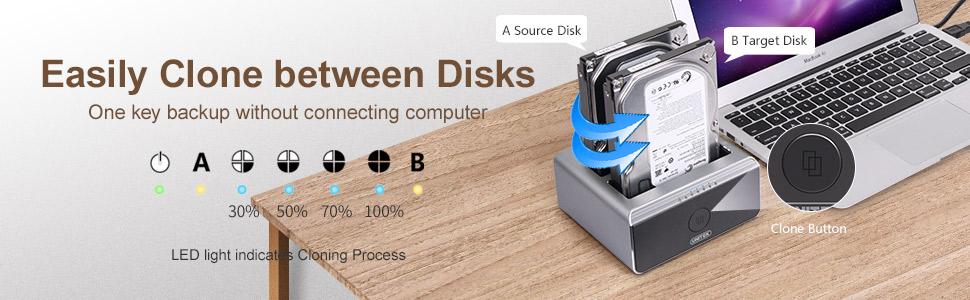 Amazon.com: Unitek USB 3.0 a SATA disco duro externo ...