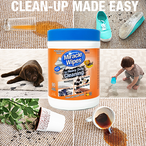 miraclewipes heavy duty cleaner kitchen sink bathroom toilet garage house grease bbq grill