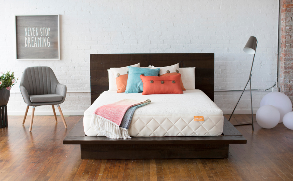 Bedroom With Happsy Mattress