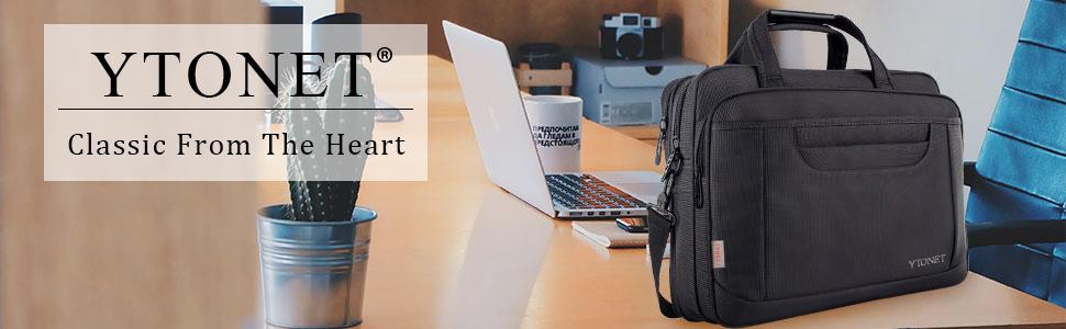 YTONEY laptop bag laptop case 15.6 inch