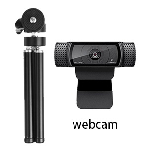 Lightweight Mini Webcam tripod for Logitech Webcam