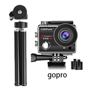 Lightweight Mini Webcam tripod for Gopro