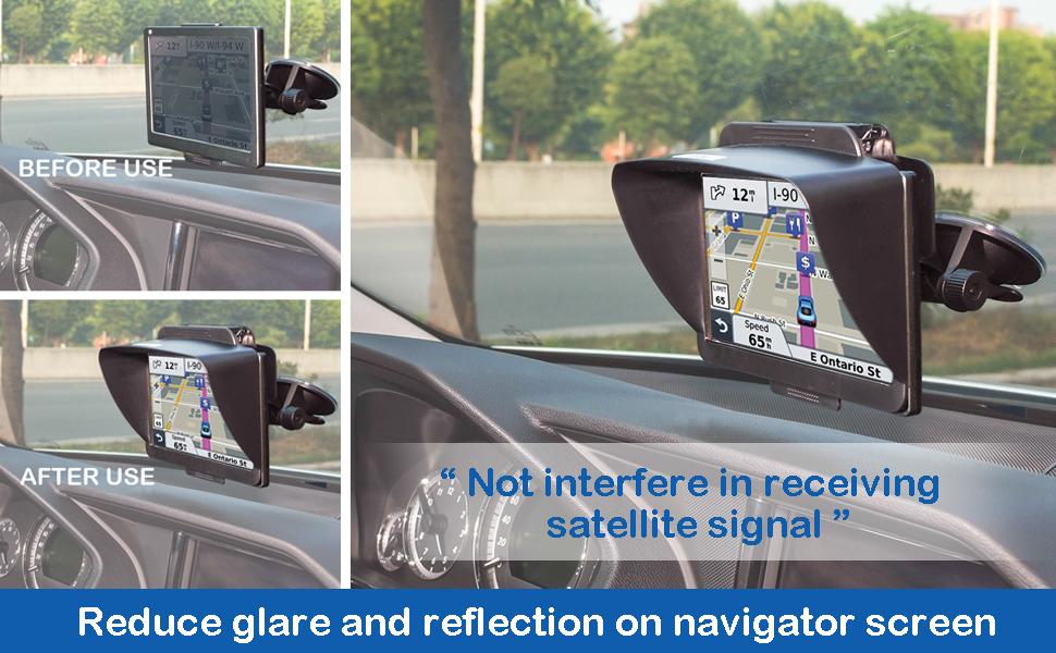 Tfy Gps Navigation Sun Shade Visor — VACA