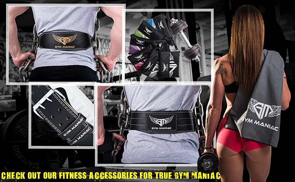 8105f276a2 CHOOSE THE BELT THAT FITS YOUR NEEDS! The Gym Maniac men s ...
