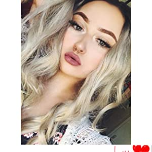 blonde lace front wig, front lace wig