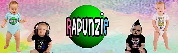 Rapunzie Baby Bodysuits