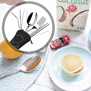 spoon fork knife combo