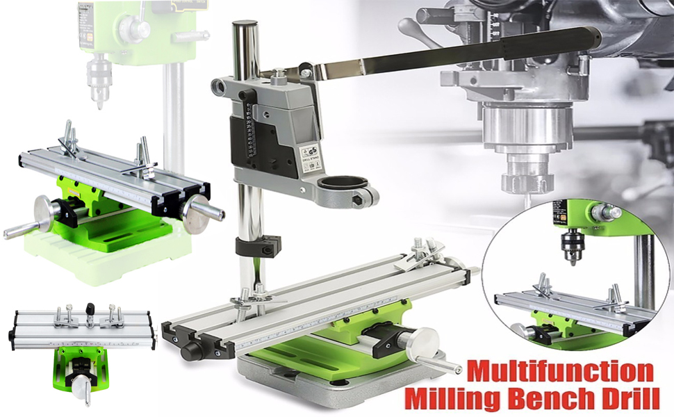 Multifunction Worktable Milling Working Table Milling Machine Compound Drilling Slide Table For Bench Drill
