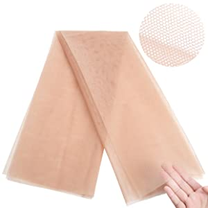 Swiss lace net for Making Lace Wigs Closure Caps wig making kit accessories materials fabrics