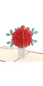 Love Fairy 3-D Pop-Up Greeting Card Handmade Happy Birthday Anniversary 116