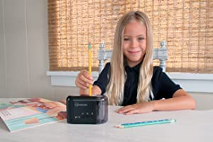 Amazon Com Electric Amp Battery Operated Pencil Sharpener