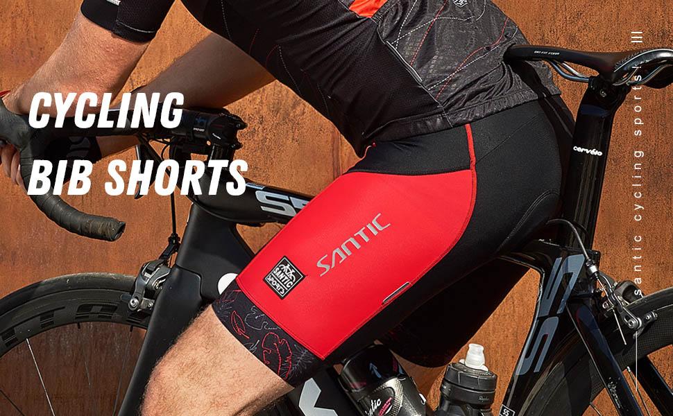 red bib shorts