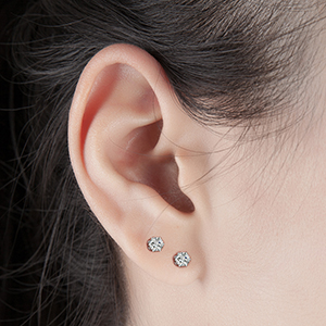 Great Match Your Any Ear Piercings, Sparkle Cubic Zirconia Earrings for Your Daily Use!