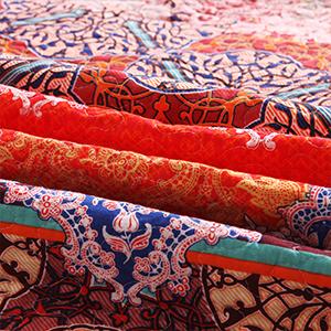 Cotton 3-piece quilt set