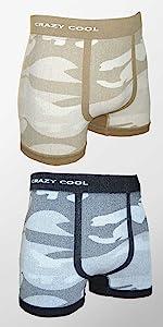 camo underwear for men, crazy cool, boxer briefs, mens underwear, mens boxer briefs, Camouflage